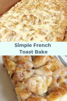 simply sweet breakfast of champions that your family will want you to make again and again.A simply sweet breakfast of champions that your family will want you to make again and again. Brunch Recipes, Gourmet Recipes, Baking Recipes, Breakfast Recipes, Pancake Recipes, Quick Recipes, Keto Recipes, Cinnamon French Toast Bake, Make French Toast