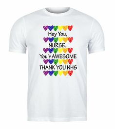 (eBay Ad) We Love Our NHS Nurses NHS Womens T-Shirt -10% Sales Goes To NHS Charity Nurses, Our Love, Charity, T Shirts For Women, Mens Tops, Ebay, Fashion, Moda, Fashion Styles