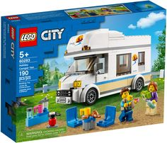 Lego City, Camping Car, Family Camping, Kitchenette, Lego Technic, Van Lego, Lego Camper Van, Classic Lego, Motorhome