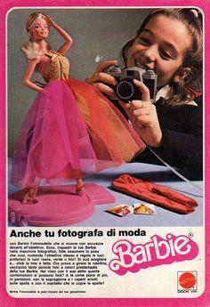 Q5 Pubblicità Advertising Werbung 1978 Barbie Fotomodella Mattel