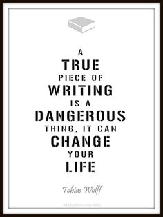 A true piece of writing...