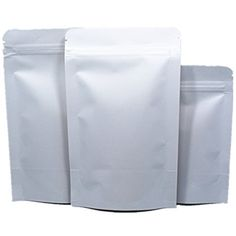 Wholesale Blank White Kraft Paper Stand Up Bags Food Coffee Storage Packing Zipper Lock Heat Seal Pouch Ziplock Pack Vavle Packaging with Tear Notches 750 Pieces 63x94 16x24cm -- Be sure to check out this awesome product affiliate link Amazon.com