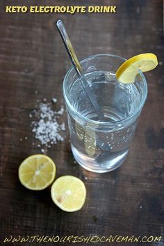 A keto electrolyte drink that is homemade, easy and delicious!