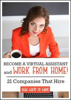 Do you want to be a virtual assistant and work at home? There are a lot of legitimate companies that do hire for this. This post has a list of 21 you could consider applying with today.