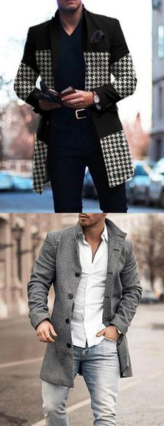 Top off your outfit with coats and jackets for men from Knowsan. From biker and jean jackets to trenches, bombers and parkas, shop for every season and style. #mens fashion #fashion Outerwear #winter #Discount Mens Fashion Winter Coats, Winter Outfits Men, Stylish Mens Outfits, Zara Man Leather Jacket, Clothes For Men Over 50, Black Men Street Fashion, Mens Overcoat, Mens Outdoor Clothing, Herren Outfit
