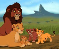 Colab by Capricornfox Kovu and Kiara © Disney Chaka, Shani, and Safi Kiara Lion King, Kiara And Kovu, Lion King 3, Lion King Story, The Lion King 1994, Lion King Fan Art, Simba And Nala, Lion King Movie, King Art
