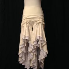 Deadwood Bloomers in Cream VERY LIMITED MATERIALS by SacredEmpire