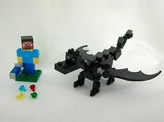 lego minecraft ender dragon instructions