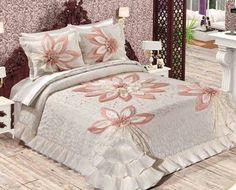 Colchas Bed Cover Design, Bed Design, Fairy Bedroom, Bedroom Decor, Beautiful Bedding Sets, Designer Bed Sheets, Wedding Bedroom, Bed Styling, Bed Covers