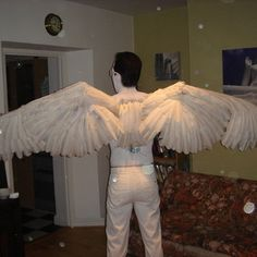 Make your own angel wings...do they come in black?