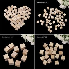 Cheap embellishments, Buy Quality embellishments for crafts directly from China embellishment craft Suppliers: Wooden Square Blocks Mini Cubes Embellishment for Woodwork Craft DIY Woodworking Square, Popular Woodworking, Woodworking Tips, Sewing Crafts, Diy Crafts, Unfinished Wood, Amazon Art, Sewing Stores, Embellishments