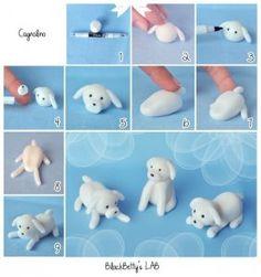 állatfigura formázása kutya