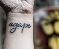 agape tattoo - Google Search