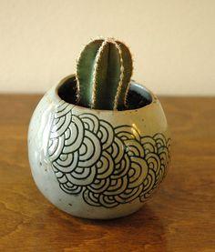 planter by Pinch Me Ceramics