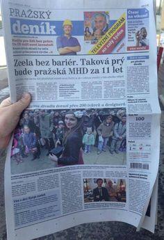 V Pražském deníku