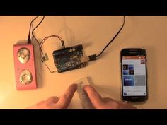 Arduino Bluetooth Stereo Audio Module OVC3860 (s3860m-s v1.2) IR Remote AT Command - YouTube