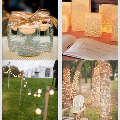 Lighting for ceremony/reception