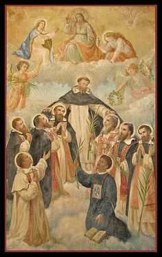 Dominican saints of China by Lawrence OP, via Flickr