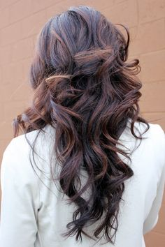 Love the color combinations here <3 I'm thinkin' I will do this for summer with a touch darker brown