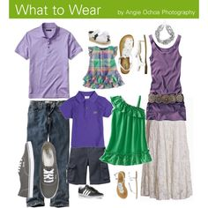 What to Wear For Your Photo Session -- Green & Lilac Family Beach Pictures, Family Photos, Beach Pics, Bild Outfits, Fall Family Photo Outfits, Pop Culture Halloween Costume, Family Photo Sessions, Pretty Photos, Family Portraits