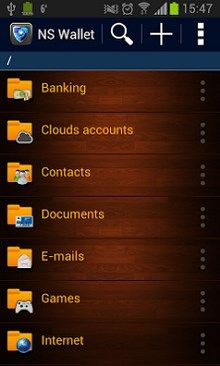 NS Wallet – Password Manager