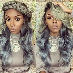 22 Unique Colored Hair Combinations On Black Women That Will Blow Your Mind - The Style News Network