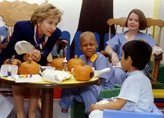 Here she is talking to kids at the Children's Memorial Hospital in Chicago, October 21, 1993. (Photo bySue Ogrocki / Reuters)  via @AOL_Lifestyle Read more: http://www.aol.com/article/2016/06/20/heres-why-voters-dont-like-donald-trump-and-hillary-clinton/21398108/?a_dgi=aolshare_pinterest#fullscreen