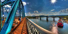 The Walnut Street Bridge, Chattanooga, TN