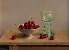 Willem Dolphyn | OIL | Black Forest Cherries