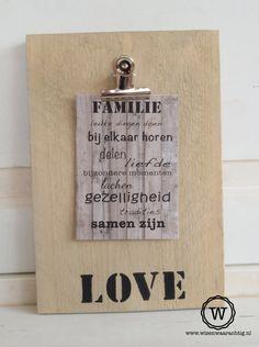 Voor #vaderdag: stoer memobord met een mooie foto van de kinderen! Ook leuk met PAPA of zijn naam erop.