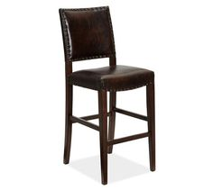 Manchester Barstool | Pottery Barn - this would look great in the family room at the bar