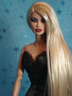Fashion Royalty Vanessa Obsidian Society Ooak Repaint Doll