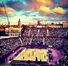 A nation gripped: Olympic beach volleyball was one of the most popular events of the summer. Picture by rufeus