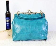 059 New Retro Vintage Lady PU leather shoulder handbag Satchel Tote bag purse