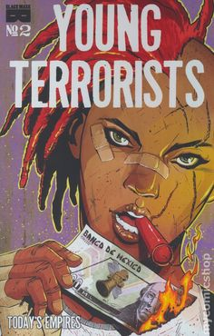 Young Terrorists (2015 Black Mask) 2Black mask Comics Modern Age comic book covers blackmask publishing rappers red mad method man