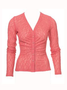 Free Burda pattern -- jersey or lace cardigan