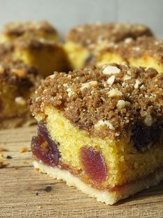 crumble pistachio cherry crumble triple almond cherry crumble squares ...