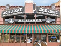 Joe Jost's, Long Beach CA - my dad and my uncle Don used to hustle...I mean, shoot pool here when they were teenagers.
