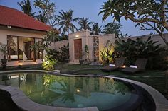 Little Paradise Pool Villa close to Canggu - Villen zur Miete in Canggu, Bali, Indonesien Pergola Patio, Gravel Patio, Patio Roof, Concrete Patio, Pergola Ideas, Backyard Patio, Patio Ideas, Bohemian Patio, 100 Euro
