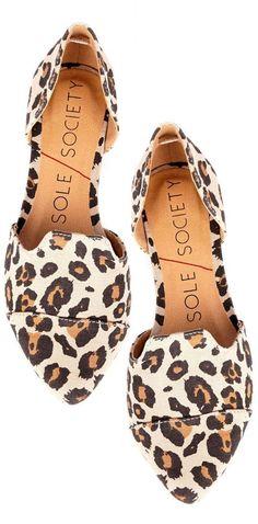 Leopard Flats ♥ L.O.V.E.