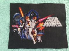 My Star Wars cross stitch! It took two years but it looks awesome!!!