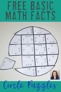 Ready to work on some basic math facts? Your 1st, 2nd, 3rd, 4th, and 5th grade classroom or homeschool students will enjoy the hands-on, interactive math centers! You'll get one FREE puzzle each for addition, subtraction, multiplication, and division. Use #mathtutoring