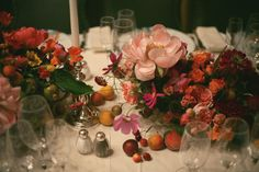 Floral Design by Amy Merrick for Jamie Beck's wedding at The Carlyle