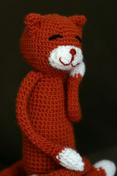 Amineko by chriss_coleman, via Flickr ~ free pattern (Can put the head/arms onto a Lovie would be adorable -- love the face especially)
