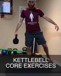 Try these great kettlebell core exercises shown here by Human 2.0 coach Dan Jones. If you are looking for a full guided kettlebell workout, click the link. #kettlebell #kettlebellexercises #kettlebellworkout #kettlebelltraining #kettlebells #kettlebellstrength