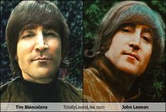 Tim Biancalana Totally Looks Like John Lennon