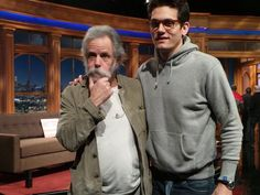 2-5-15 Bob Weir on The Late Late Show with temp host John Mayer