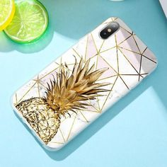 Pineapple Soft Case For Samsung Galaxy Samsung Note 8 9 Girly Phone Cases, Glitter Phone Cases, Phone Cases Samsung Galaxy, Phone Covers, Iphone Cases, Diy Phone Case Design, Marble Case, Cute Cases, Phone Accessories