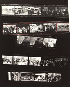 Contact sheet from 'The Americans' Robert Frank Robert Frank, Monochrome Photography, Film Photography, Street Photography, Landscape Photography, Photography Ideas, The Americans, Walker Evans, Richard Avedon
