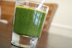 Permanent Link to Kimberly Snyder's Glowing Green Smoothie Recipe – 0 Points + Vegetable Smoothie Recipes, Green Smoothie Recipes, Healthy Smoothies, Green Smoothies, Healthy Fruits, Healthy Drinks, Smoothie Cleanse, Juice Smoothie, Smoothie Drinks